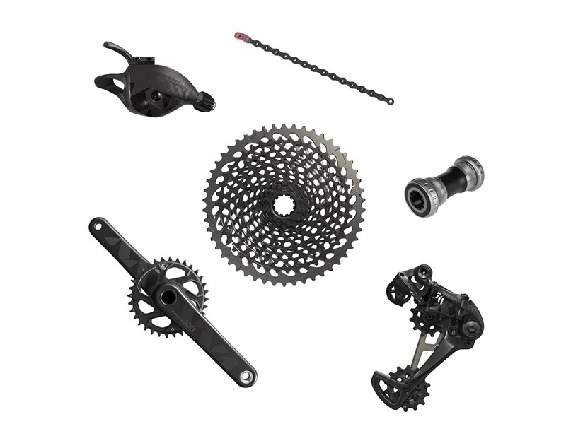 SRAM XX1 Eagle GXP 12 speed gruppe sort | Geargrupper