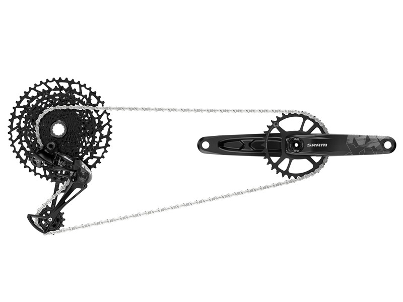 SRAM NX Eagle 12-Speed Gruppe 11-50T 170 mm 32T | Geargrupper