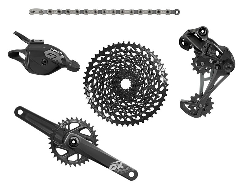 Sram GX Eagle 1x12 BB30 175mm 32t gruppe Boost | Geargrupper