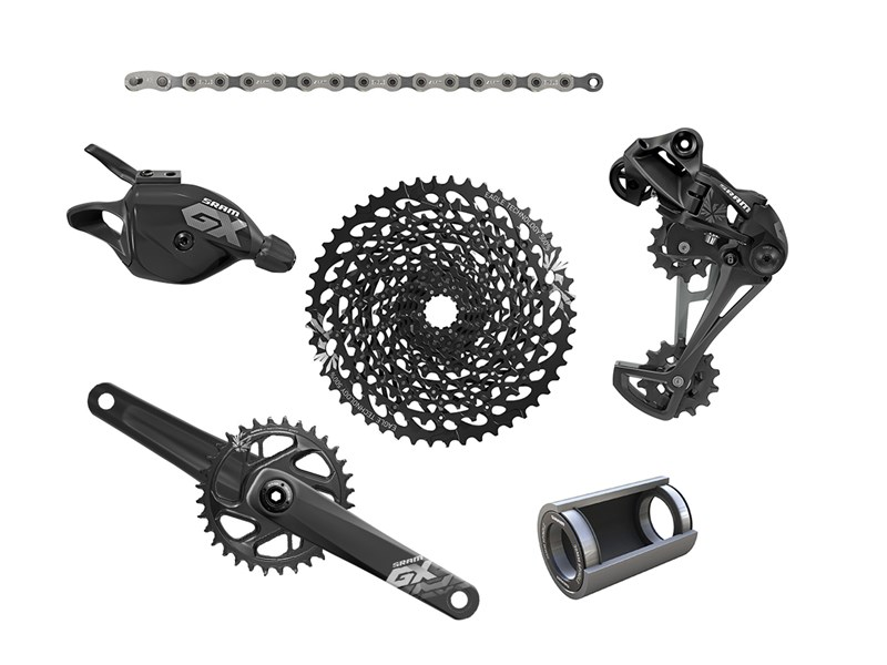 SRAM GX Eagle 12-speed Gruppe BB30 Boost | Geargrupper